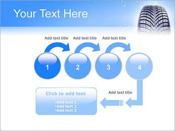 Hiver de pneu de voiture Modèles des présentations  PowerPoint - Diapositives 4