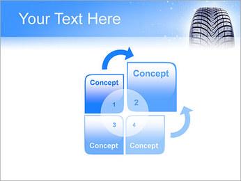 Hiver de pneu de voiture Modèles des présentations  PowerPoint - Diapositives 5
