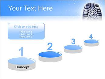 Hiver de pneu de voiture Modèles des présentations  PowerPoint - Diapositives 7