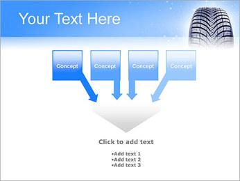 Hiver de pneu de voiture Modèles des présentations  PowerPoint - Diapositives 8