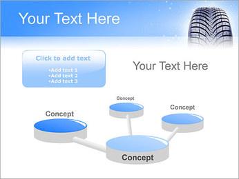 Hiver de pneu de voiture Modèles des présentations  PowerPoint - Diapositives 9
