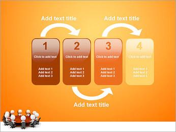 Ilustración De Conferencia Plantillas de Presentaciones PowerPoint - Diapositiva 11