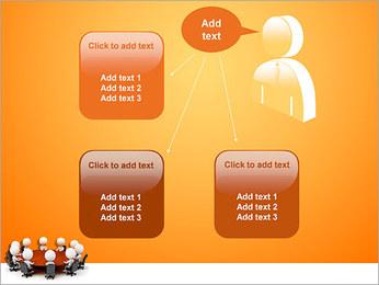 Ilustración De Conferencia Plantillas de Presentaciones PowerPoint - Diapositiva 12