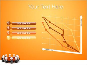 Ilustración De Conferencia Plantillas de Presentaciones PowerPoint - Diapositiva 13