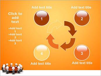 Ilustración De Conferencia Plantillas de Presentaciones PowerPoint - Diapositiva 14