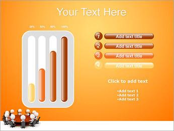 Ilustración De Conferencia Plantillas de Presentaciones PowerPoint - Diapositiva 18