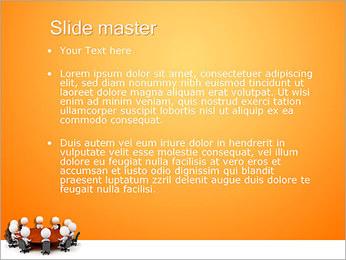 Ilustración De Conferencia Plantillas de Presentaciones PowerPoint - Diapositiva 2