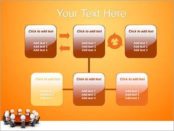 Ilustración De Conferencia Plantillas de Presentaciones PowerPoint - Diapositiva 23