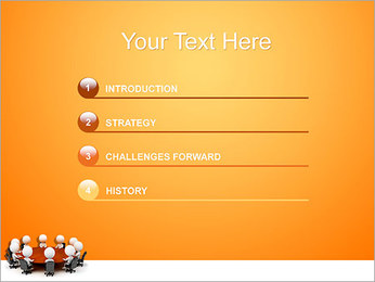 Ilustración De Conferencia Plantillas de Presentaciones PowerPoint - Diapositiva 3