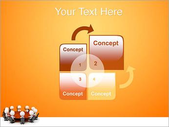 Ilustración De Conferencia Plantillas de Presentaciones PowerPoint - Diapositiva 5