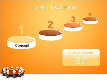 Ilustración De Conferencia Plantillas de Presentaciones PowerPoint - Diapositiva 7