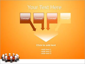 Ilustración De Conferencia Plantillas de Presentaciones PowerPoint - Diapositiva 8