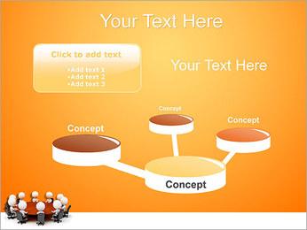 Ilustración De Conferencia Plantillas de Presentaciones PowerPoint - Diapositiva 9