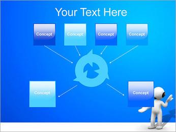 Hombre HelpDesk Plantillas de Presentaciones PowerPoint - Diapositiva 10