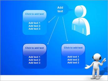 Hombre HelpDesk Plantillas de Presentaciones PowerPoint - Diapositiva 12