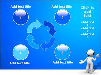 Hombre HelpDesk Plantillas de Presentaciones PowerPoint - Diapositiva 14