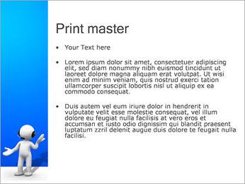 Hombre HelpDesk Plantillas de Presentaciones PowerPoint - Diapositiva 24