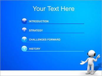 Hombre HelpDesk Plantillas de Presentaciones PowerPoint - Diapositiva 3