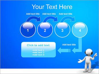 man helpdesk powerpoint template & backgrounds id 0000002878, Presentation templates