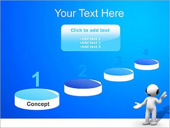 Hombre HelpDesk Plantillas de Presentaciones PowerPoint - Diapositiva 7