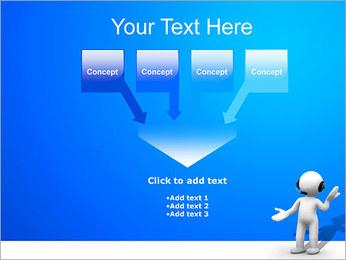 Hombre HelpDesk Plantillas de Presentaciones PowerPoint - Diapositiva 8