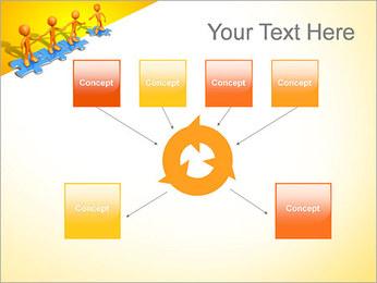 Ayudar a los demás Puzzle Plantillas de Presentaciones PowerPoint - Diapositiva 10