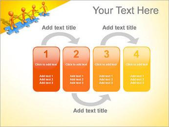 Ayudar a los demás Puzzle Plantillas de Presentaciones PowerPoint - Diapositiva 11