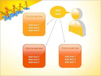 Ayudar a los demás Puzzle Plantillas de Presentaciones PowerPoint - Diapositiva 12