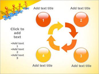 Ayudar a los demás Puzzle Plantillas de Presentaciones PowerPoint - Diapositiva 14