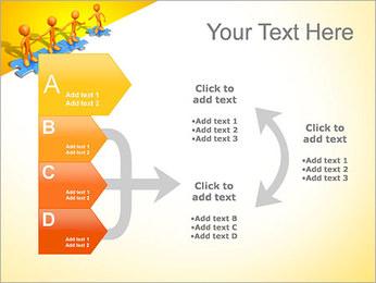 Ayudar a los demás Puzzle Plantillas de Presentaciones PowerPoint - Diapositiva 16