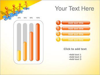 Ayudar a los demás Puzzle Plantillas de Presentaciones PowerPoint - Diapositiva 18