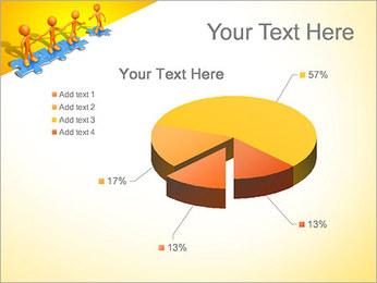 Ayudar a los demás Puzzle Plantillas de Presentaciones PowerPoint - Diapositiva 19