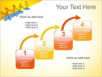 Ayudar a los demás Puzzle Plantillas de Presentaciones PowerPoint - Diapositiva 20