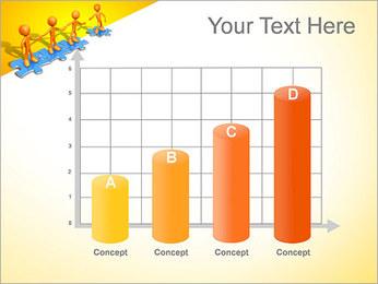 Ayudar a los demás Puzzle Plantillas de Presentaciones PowerPoint - Diapositiva 21