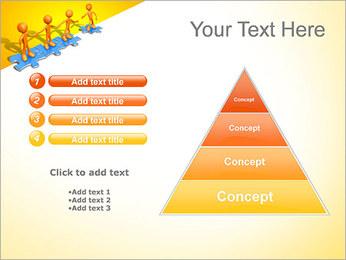 Ayudar a los demás Puzzle Plantillas de Presentaciones PowerPoint - Diapositiva 22
