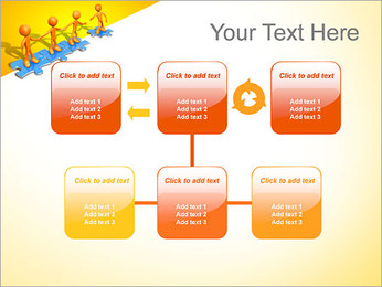 Ayudar a los demás Puzzle Plantillas de Presentaciones PowerPoint - Diapositiva 23