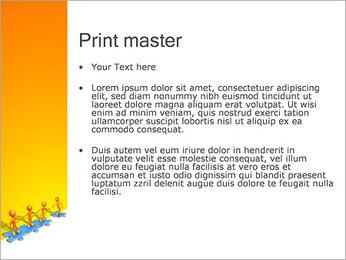 Ayudar a los demás Puzzle Plantillas de Presentaciones PowerPoint - Diapositiva 24