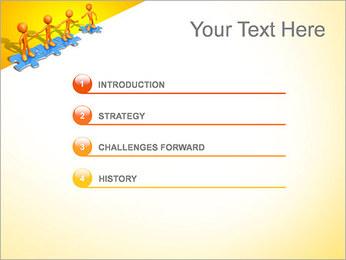 Ayudar a los demás Puzzle Plantillas de Presentaciones PowerPoint - Diapositiva 3