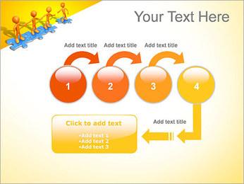 Ayudar a los demás Puzzle Plantillas de Presentaciones PowerPoint - Diapositiva 4
