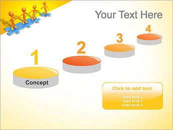 Ayudar a los demás Puzzle Plantillas de Presentaciones PowerPoint - Diapositiva 7