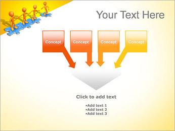 Ayudar a los demás Puzzle Plantillas de Presentaciones PowerPoint - Diapositiva 8