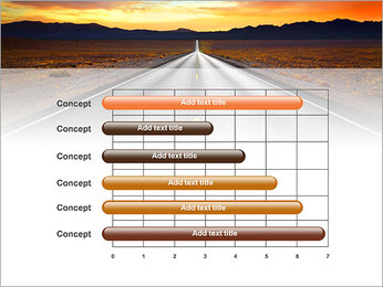 Road At Sunset PowerPoint Template - Slide 17