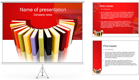 Book Store PowerPoint Template