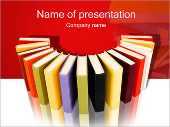 Book Store PowerPoint Template - Slide 1