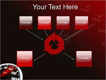 Compteur de vitesse dans la voiture Modèles des présentations  PowerPoint - Diapositives 10