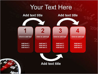 Compteur de vitesse dans la voiture Modèles des présentations  PowerPoint - Diapositives 11