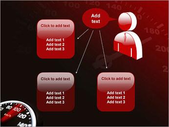 Compteur de vitesse dans la voiture Modèles des présentations  PowerPoint - Diapositives 12