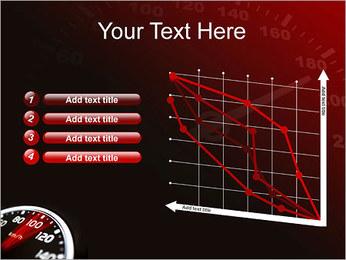 Compteur de vitesse dans la voiture Modèles des présentations  PowerPoint - Diapositives 13