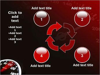 Compteur de vitesse dans la voiture Modèles des présentations  PowerPoint - Diapositives 14