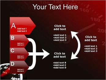 Compteur de vitesse dans la voiture Modèles des présentations  PowerPoint - Diapositives 16